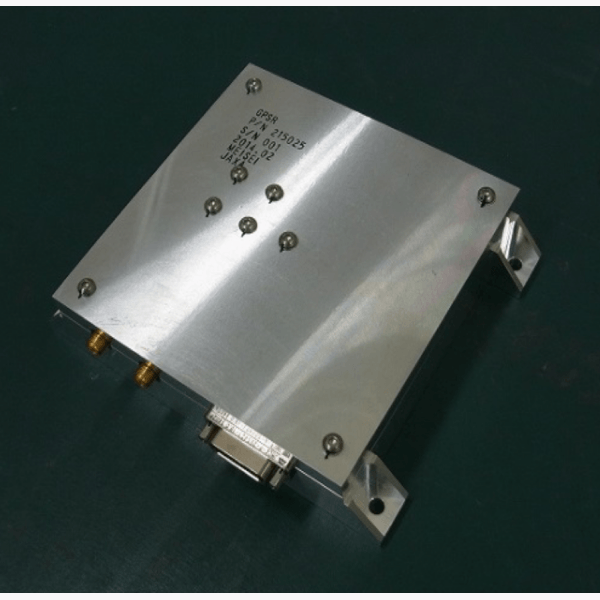 Dual Antenna GPS Receiver for Satellites